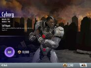 Cyborg in Injustice Moblie