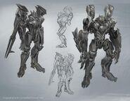 BatRobot Concept Art