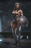 Wonder Woman - Queen of Hearts (alt)