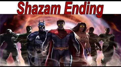 Injustice Gods Among Us - Shazam Ending 【HD】