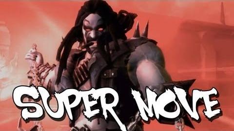 Injustice Gods Among Us - Lobo's Super Move HD