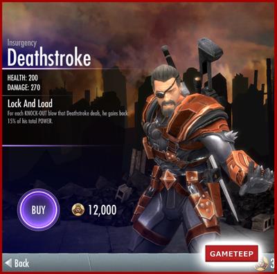Injustice Gods Among Us Insurgency Deathstroke