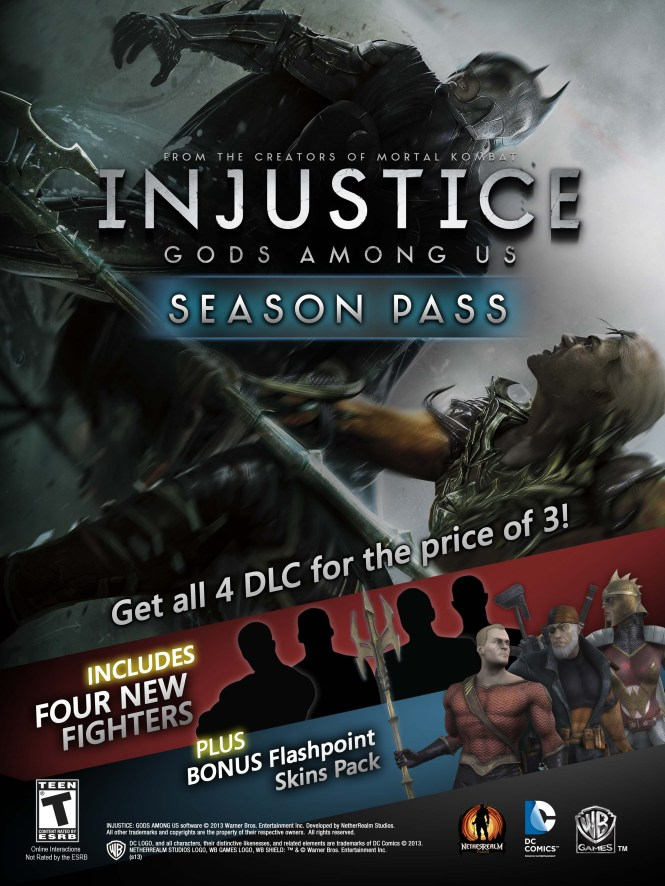 Injustice Downloadable Content   Injustice:Gods Among Us