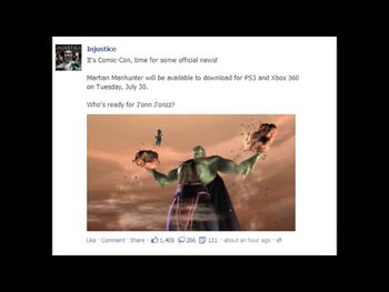 Martian Manhunter Release Date