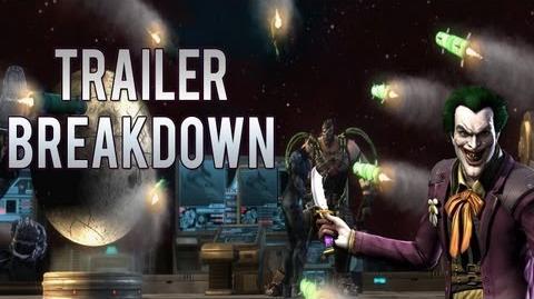 Injustice Gods Among Us Story Trailer MAJOR BREAKDOWN!!!!!