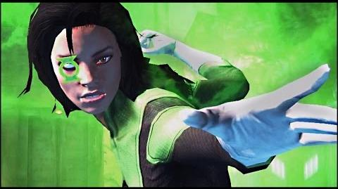 Green Lantern Jessica Cruz Rebirth Super move