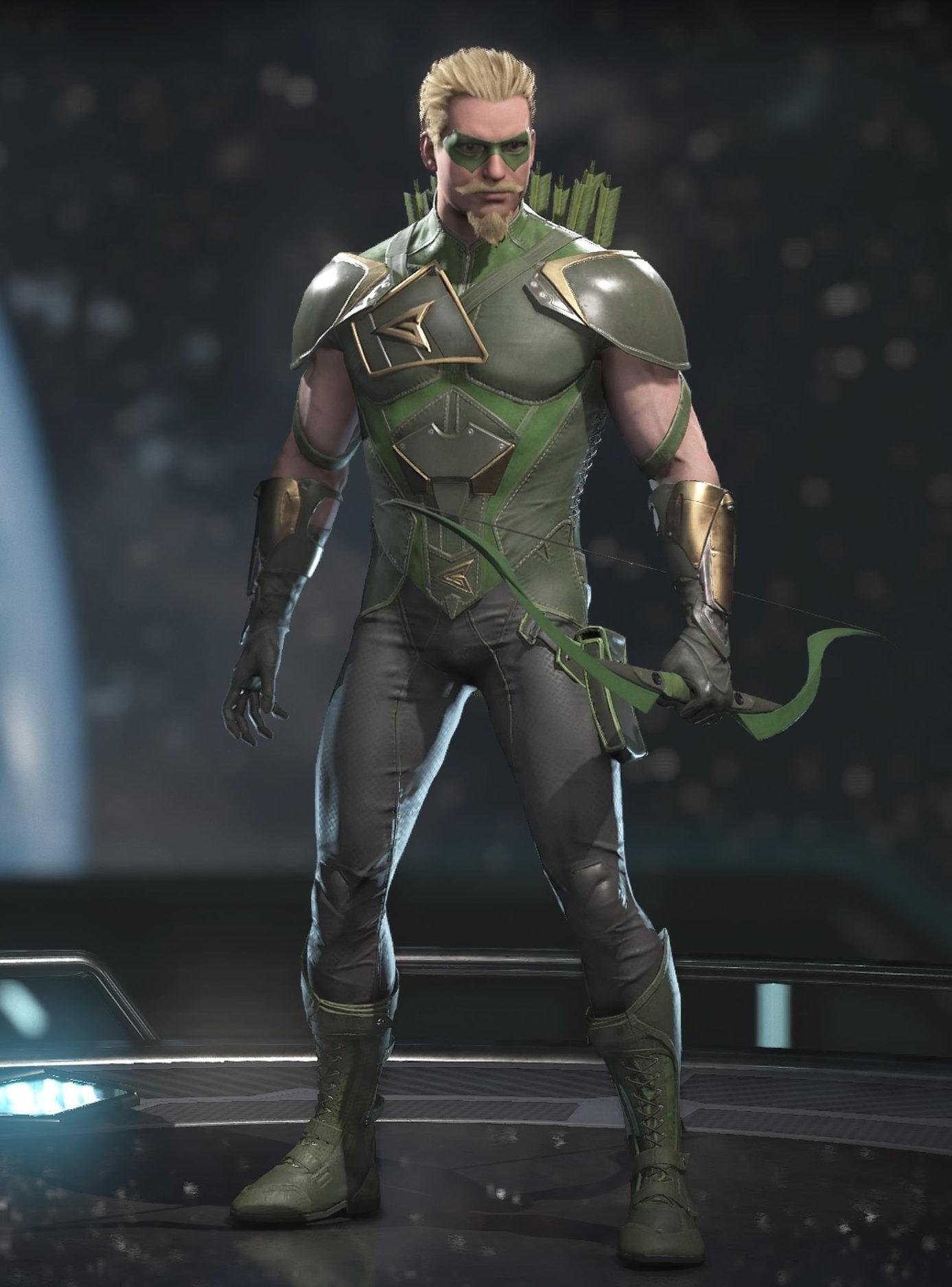 Green Arrow injustice 1
