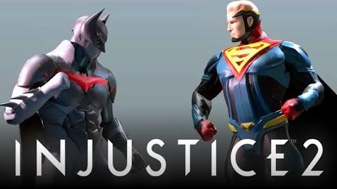"""Injustice 2 Early Build Concept Footage w Cancelled """"Command Map"""" Mode & More! (Injustice 2)"""