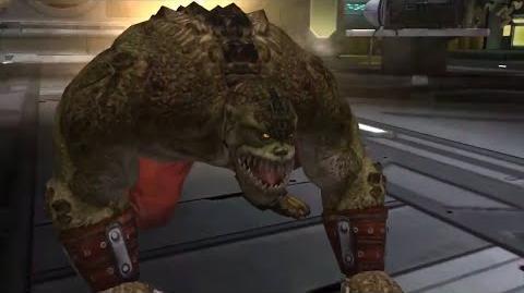 Killer Croc Super Move