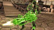 Red Son Green Lantern mini gun