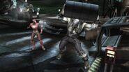 Solomon Grundy fighting Flash