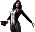 Zatanna clean render Injustice