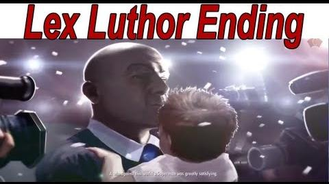 Injustice Gods Among Us - Lex Luthor Ending 【HD】