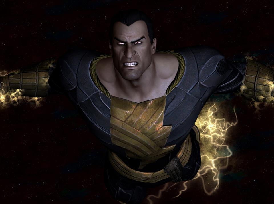 Black Adam New 52 Injustice