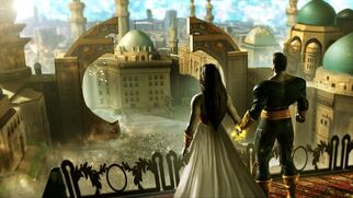 Black Adam & Isis in Kahndaq
