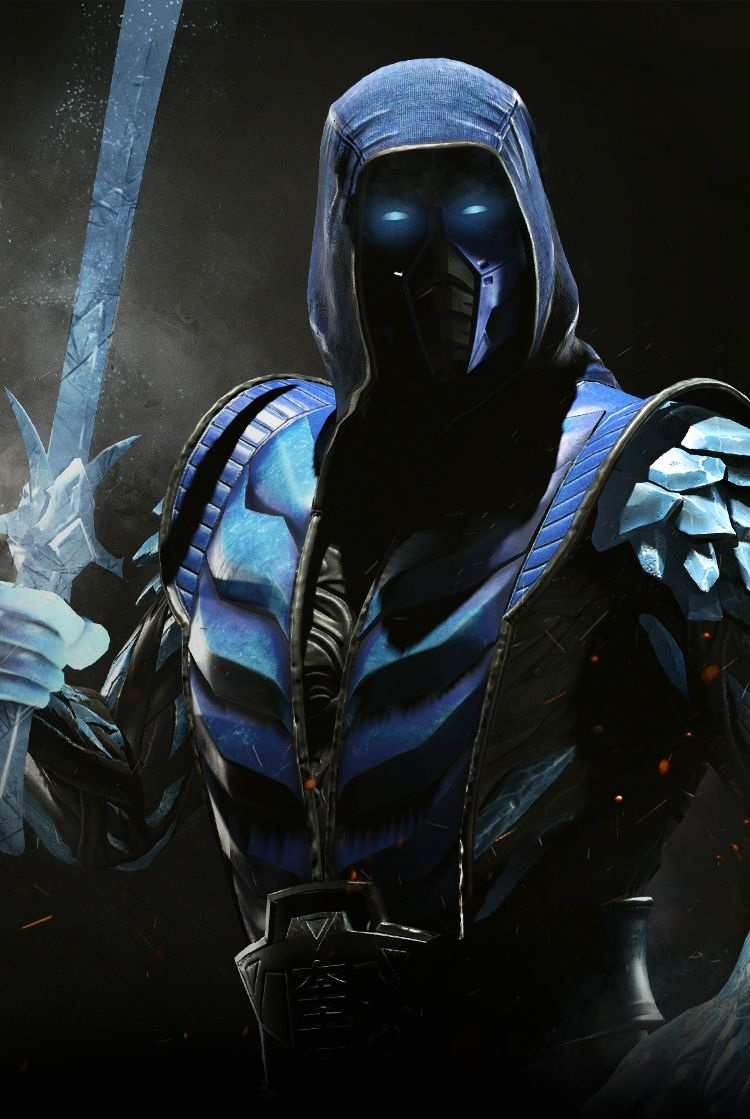 Injustice2 SUB ZERO Wallpaper MOBILE 76 1