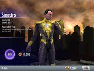 Sinestro iOS