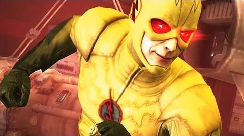 Injustice- Reverse Flash Super Move