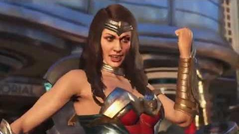 Injustice 2 – Official Wonder Woman and Blue Beetle Trailer