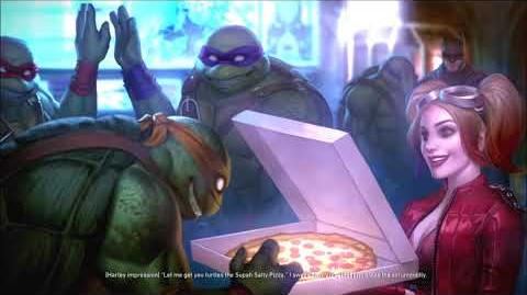 Injustice 2- Teenage Mutant Ninja Turtles Ending