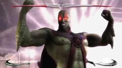 Injustice Gods Among Us - Martian Manhunter's Super Move