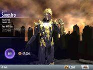 Sinestro Regime iOS
