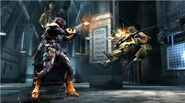 Deathstroke vs. Green Arrow