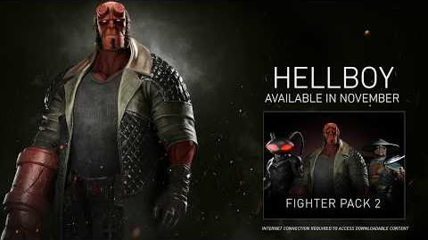 Injustice 2 - Introducing Hellboy!