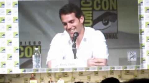 """Man of Steel"" Panel - Comic-Con 2012"