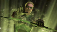 Inj2 Green Arrow Super Move activating
