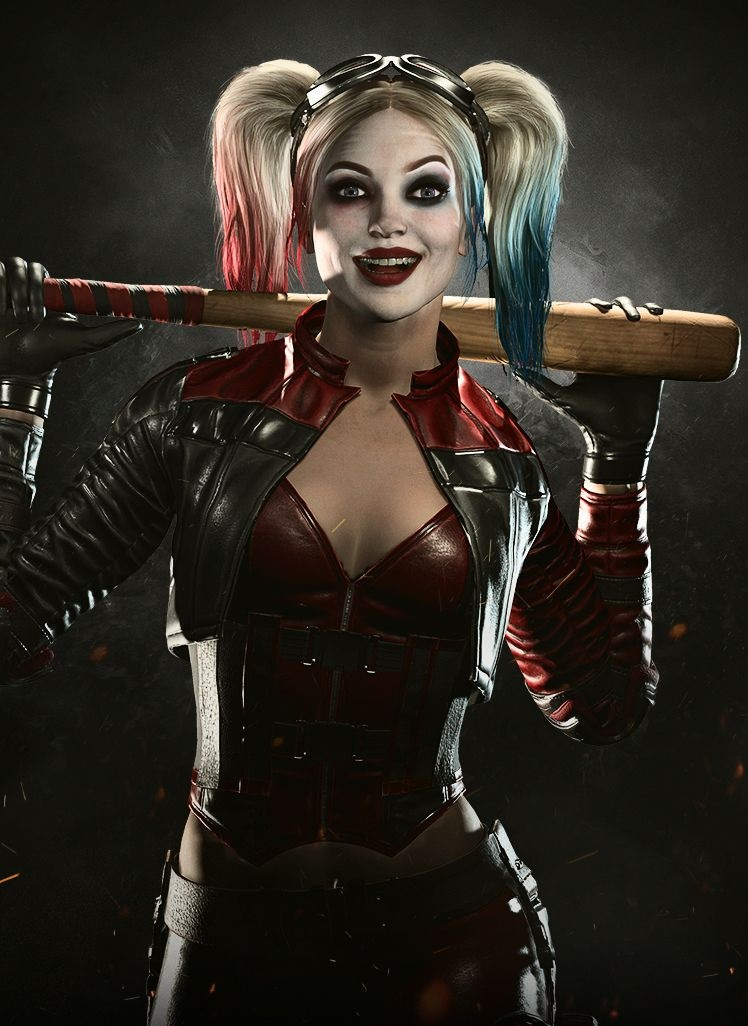 Harley Quinn Cant Help It She Has To Be Naughty-pic6514