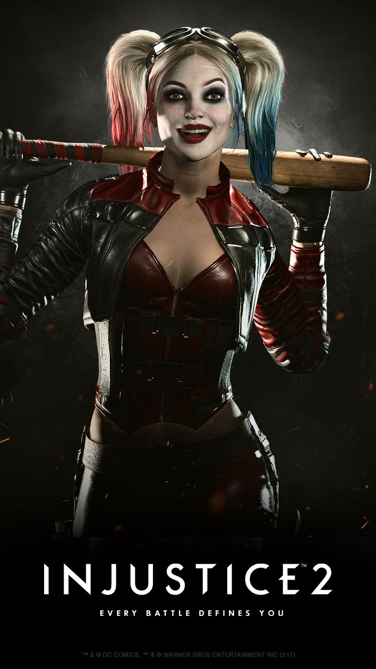 Injustice2 HARLEY QUINN Wallpaper MOBILE 666148