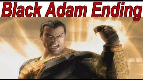 Injustice Gods Among Us - Black Adam Ending 【HD】