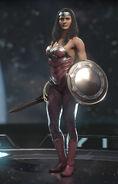 Wonder Woman - Queen of Hearts