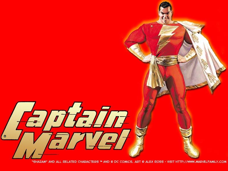 Classic Shazam Captain Marvel