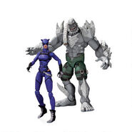Catwoman & Doomsday Toy