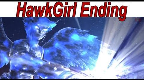 Injustice Gods Among Us - 'Hawkgirl Ending' 【HD】