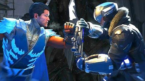 Injustice 2 - Sub-Zero Vs Captain Cold All Intro Dialogue All Clash Quotes, Super Moves