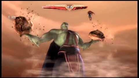 Injustice Martian Manhunter's SUPER SPECIAL MOVE