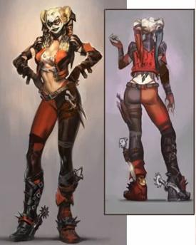File:Harley Quinn Alternate Costume Concept Art.jpg