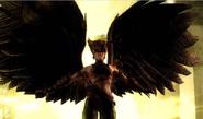 Hawkgirl wings