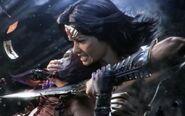 Wonder Woman In Trailer