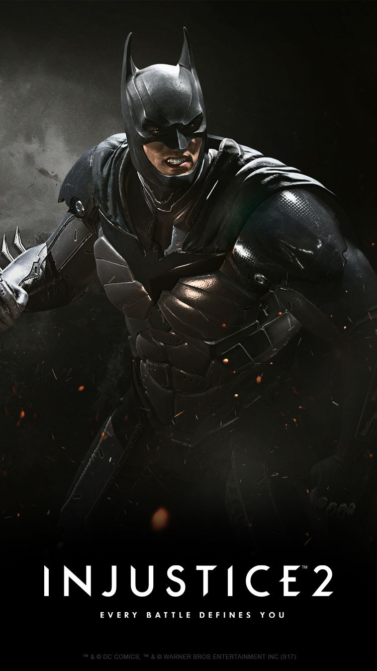 Injustice2 BATMAN Wallpaper MOBILE 495156