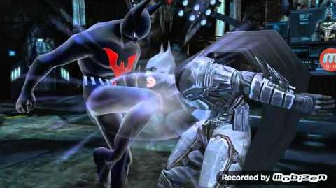 Injustice(Mobile)-Batman Beyond Animated Super Move