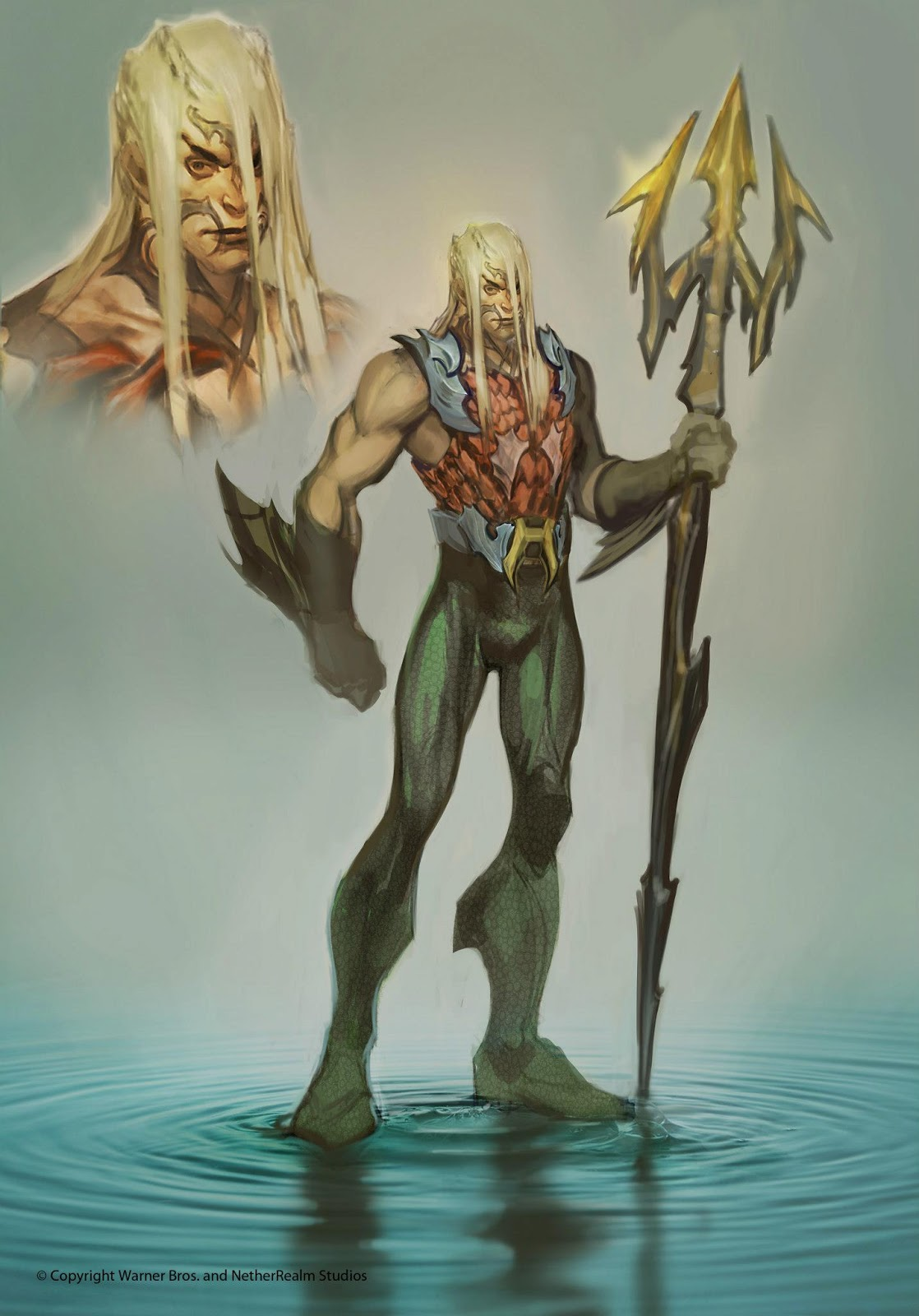 Image result for aquaman movie concept art