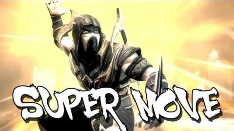Injustice Gods Among Us - Scorpion's Super Move HD