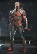 Green Arrow - Archbold Orange (alt)