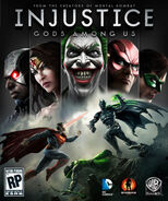 Injustice Gods Among Us Cover Art