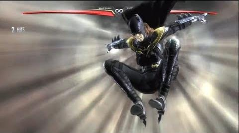 Injustice Batgirl's SUPER SPECIAL MOVE