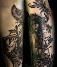 TattooVictorianGirl